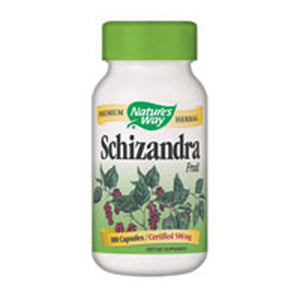 Schizandra with Fruit 100 Capsules by Nature's Way