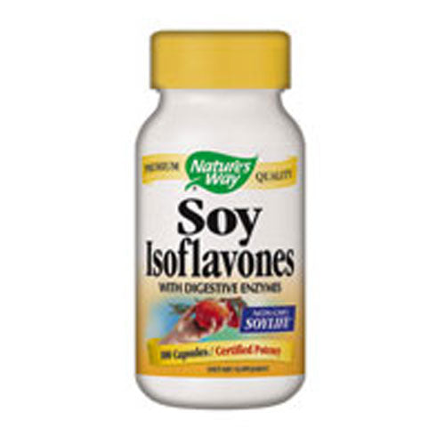 Soy Isoflavone 100 Caps by Nature's Way