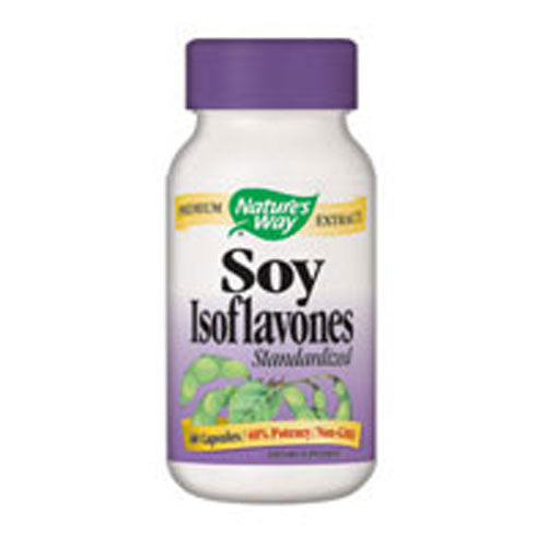 Soy Isoflavone 40% STANDARDIZED,60 CAP by Nature's Way