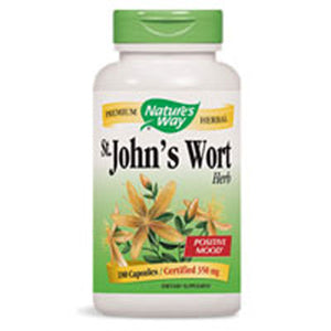 St. John's Wort 0.3% Hypericin 100 Caps by Nature's Way (2584011407445)