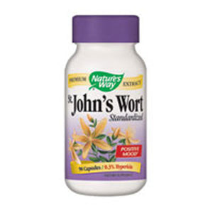 St. John's Wort STANDARDIZED,90 CAP by Nature's Way