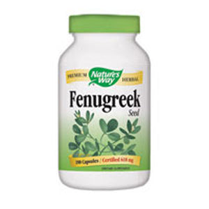 Fenugreek Value Size 180 Caps by Nature's Way (2584012161109)