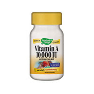Vitamin A SOFTGEL, 100CAP by Nature's Way