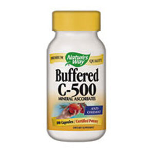 Vitamin C 500 Ascorbate Buffered 100 Caps by Nature's Way (2584012521557)