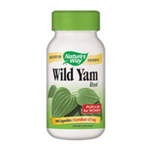 Wild Yam Root 100 Caps by Nature's Way (2584013111381)