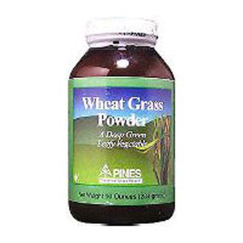 Wheat Grass 100% Pure Powder 3.5 Oz by Pines Wheat Grass