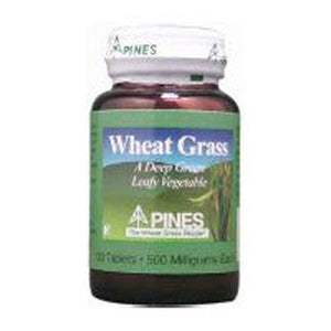 Wheat Grass 500 Tabs by Pines Wheat Grass (2584015339605)