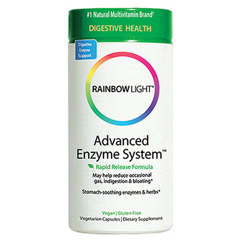 Advanced Enzyme System 180 VCaps by Rainbow Light