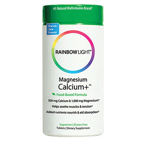Magnesium Calcium + 90 Tabs by Rainbow Light