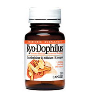 Kyo-Dophilus 180 Capsules by Kyolic