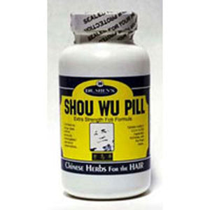 Shou Wu Pill Youthful Hair 200 TABS by Dr. Shens (2588737142869)