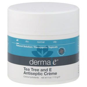Tea Tree & E Antiseptic Creme 4 Oz by Derma e (2584026054741)