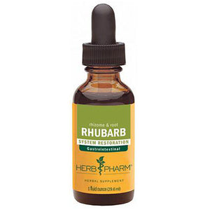 Rhubarb Extract 4 Oz by Herb Pharm,