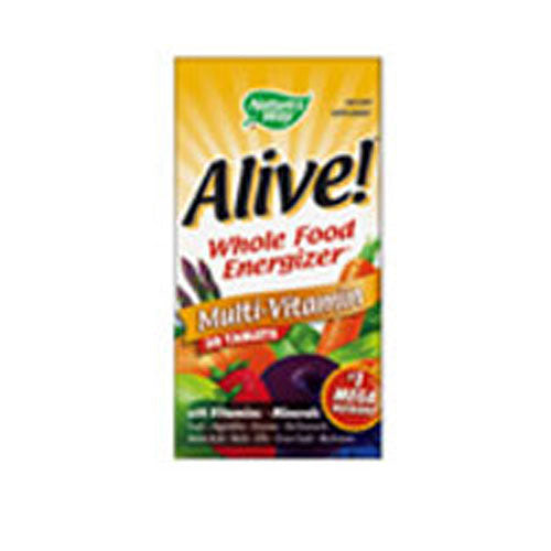 Alive Multi-Vitamin no Iron 30 Tabs by Nature's Way