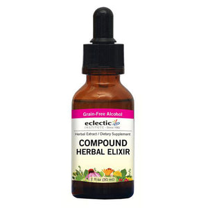 Compound Herbal Elixir 2 Oz with Alcohol by Eclectic Institute Inc (2584038670421)