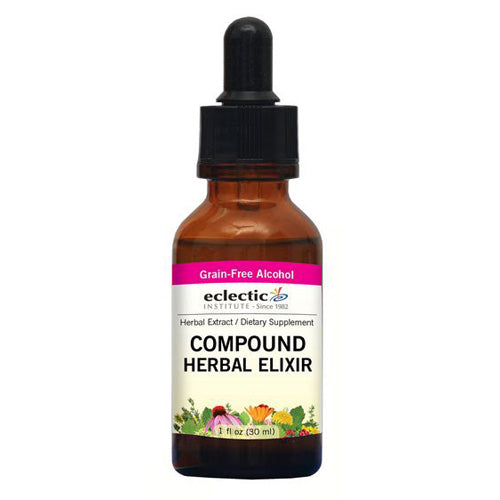 Compound Herbal Elixir 2 Oz with Alcohol by Eclectic Institute Inc