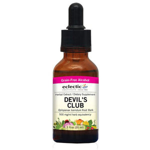Devil's Club 1 Oz with Alcohol by Eclectic Institute Inc (2584038932565)