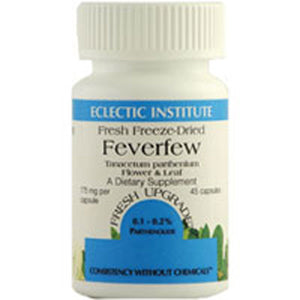 Feverfew 90 Caps by Eclectic Institute Inc (2584039882837)
