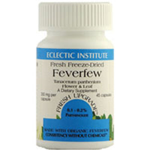 Feverfew 90 Caps by Eclectic Institute Inc (2584040144981)