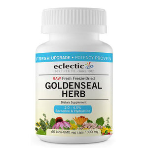 Goldenseal Herb 60 Caps by Eclectic Institute Inc