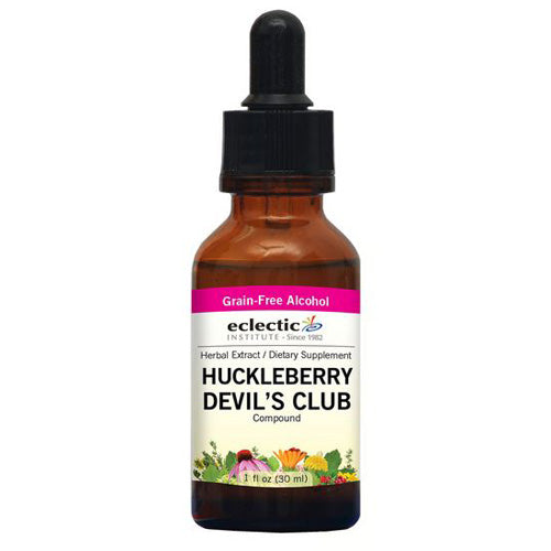 Huckleberry - Devil's Club 1 Oz with Alcohol by Eclectic Institute Inc