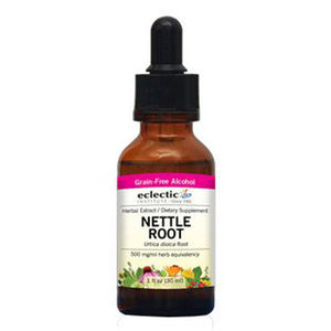 Nettle Root 2 Oz with Alcohol by Eclectic Institute Inc (2588760932437)