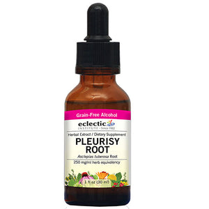 Pleurisy Root 2 Oz with Alcohol by Eclectic Institute Inc (2584240357461)