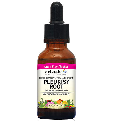 Pleurisy Root 2 Oz with Alcohol by Eclectic Institute Inc