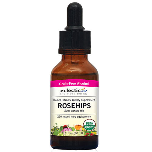 Rosehips 1 Oz with Alcohol by Eclectic Institute Inc