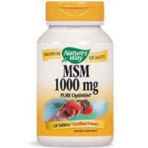 MSM 200 Tabs by Nature's Way