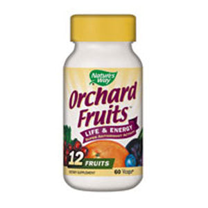 Orchard Fruits 60 Caps (Fruit) by Nature's Way