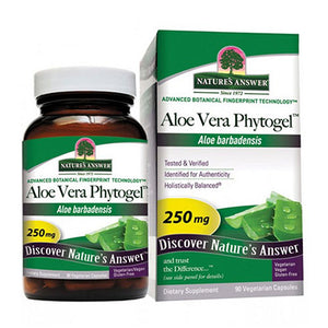 Aloe Vera Phytogel 90 Caps by Nature's Answer (2588780986453)