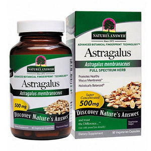 Astragalus Root Standardized 60 Vcaps by Nature's Answer (2588781117525)