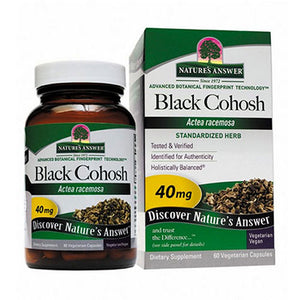 Black Cohosh Root Standardized 60 Vcaps by Nature's Answer (2588781314133)