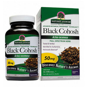 Black Cohosh Root 90 Caps by Nature's Answer (2588781248597)