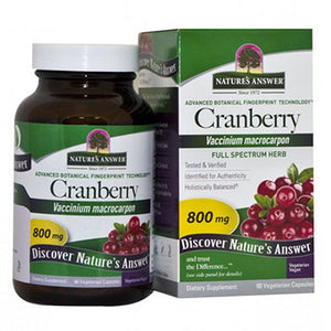 Cranberry Fruit 90 Vcaps by Nature's Answer (2584055414869)