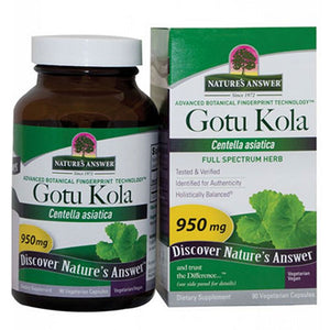 Gotu-Kola Herb 90 Caps by Nature's Answer (2588783771733)