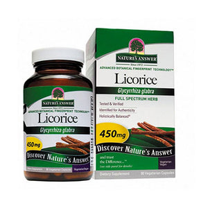 Licorice Root 90 Caps by Nature's Answer