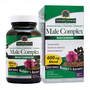 Male Complex 90 Vcaps by Nature's Answer (2584055906389)