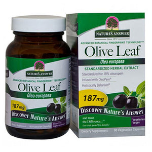 Oleopein Olive Leaf Standardized 60 Vcaps by Nature's Answer (2584056004693)