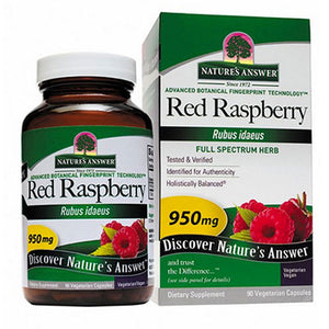 Red Raspberry Leaf 90 Caps by Nature's Answer (2584056135765)