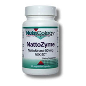 NattoZyme (Nattokinase) 300 Softgels  by Nutricology/ Allergy Research Group (2588863955029)