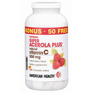 Super Acerola 300 wafers by American Health