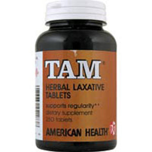 Tam Herbal Laxative 250 Tabs by American Health (2584052990037)
