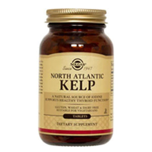 North Atlantic Kelp Tablets 250 Tabs by Solgar (2584065998933)