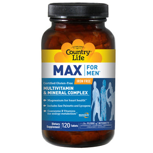 Max For Men 120 Tabs by Country Life (2584075731029)