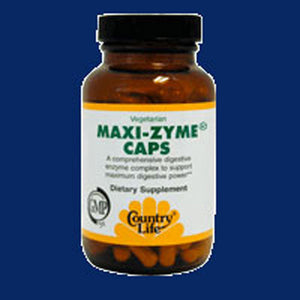 Maxi-Zyme 120 Caps by Country Life