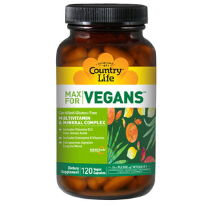 Vegetarian Support 120 Tabs by Country Life (2584078188629)