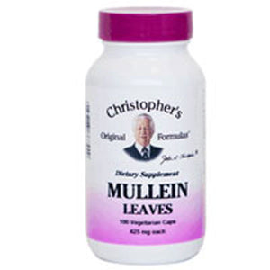 Mullein Leaf 100 Vegicaps by Dr. Christophers Formulas