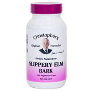 Slippery Elm Bark 100 Vegicaps by Dr. Christophers Formulas (2588822765653)
